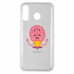 Чохол для Samsung M30 The brain meditates