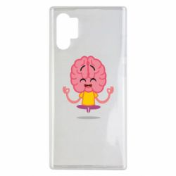 Чохол для Samsung Note 10 Plus The brain meditates