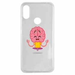 Чехол для Xiaomi Redmi Note 7 The brain meditates