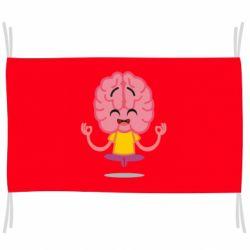 Прапор The brain meditates