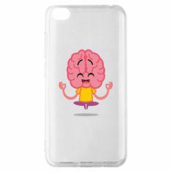 Чехол для Xiaomi Redmi Go The brain meditates