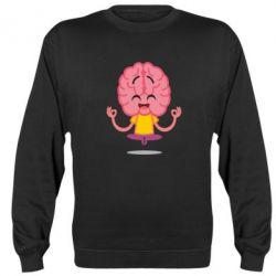 Реглан (світшот) The brain meditates