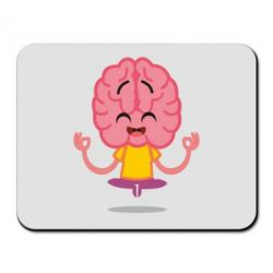 Килимок для миші The brain meditates