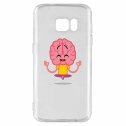 Чохол для Samsung S7 The brain meditates