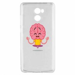 Чехол для Xiaomi Redmi 4 The brain meditates