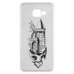Чохол для Samsung A3 2016 The castle is on the skull