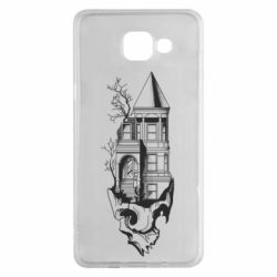 Чохол для Samsung A5 2016 The castle is on the skull
