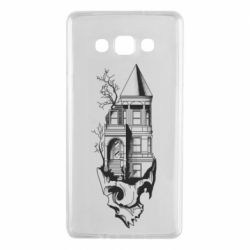 Чохол для Samsung A7 2015 The castle is on the skull