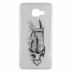 Чохол для Samsung A7 2016 The castle is on the skull