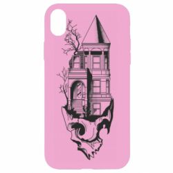 Чохол для iPhone XR The castle is on the skull