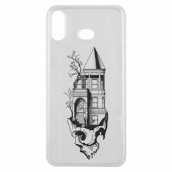 Чохол для Samsung A6s The castle is on the skull