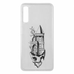 Чохол для Samsung A7 2018 The castle is on the skull