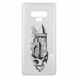 Чохол для Samsung Note 9 The castle is on the skull