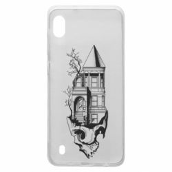 Чохол для Samsung A10 The castle is on the skull