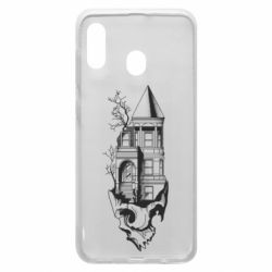 Чохол для Samsung A20 The castle is on the skull