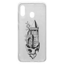 Чохол для Samsung A30 The castle is on the skull
