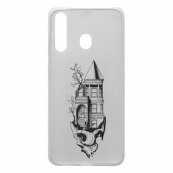 Чохол для Samsung A60 The castle is on the skull