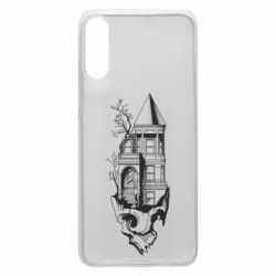 Чохол для Samsung A70 The castle is on the skull