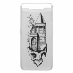 Чохол для Samsung A80 The castle is on the skull
