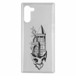 Чохол для Samsung Note 10 The castle is on the skull