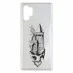Чохол для Samsung Note 10 Plus The castle is on the skull