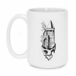 Кружка 420ml The castle is on the skull