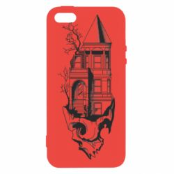 Чохол для iphone 5/5S/SE The castle is on the skull