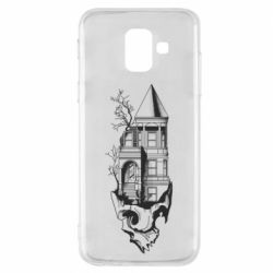 Чохол для Samsung A6 2018 The castle is on the skull