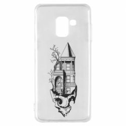 Чохол для Samsung A8 2018 The castle is on the skull