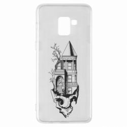 Чохол для Samsung A8+ 2018 The castle is on the skull