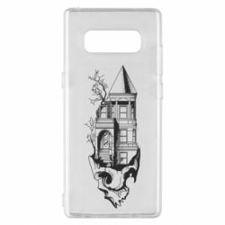 Чохол для Samsung Note 8 The castle is on the skull