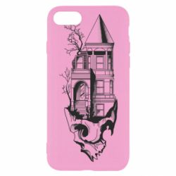 Чохол для iPhone 8 The castle is on the skull