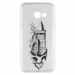 Чохол для Samsung A3 2017 The castle is on the skull