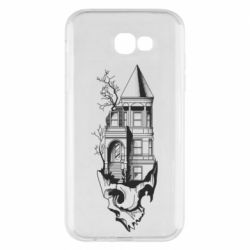 Чохол для Samsung A7 2017 The castle is on the skull