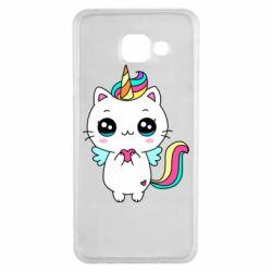 Чохол для Samsung A3 2016 The cat is unicorn