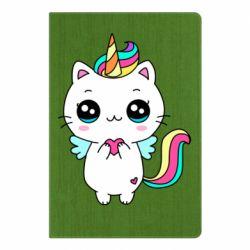 Блокнот А5 The cat is unicorn