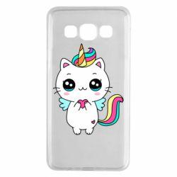 Чохол для Samsung A3 2015 The cat is unicorn