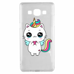 Чохол для Samsung A5 2015 The cat is unicorn