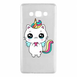 Чохол для Samsung A7 2015 The cat is unicorn