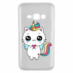 Чохол для Samsung J1 2016 The cat is unicorn