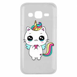 Чохол для Samsung J2 2015 The cat is unicorn