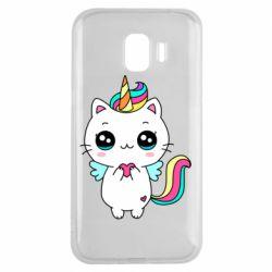 Чохол для Samsung J2 2018 The cat is unicorn