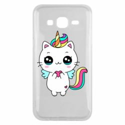 Чохол для Samsung J5 2015 The cat is unicorn