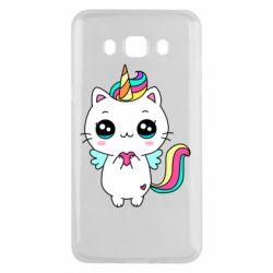 Чохол для Samsung J5 2016 The cat is unicorn