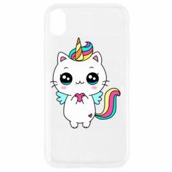 Чохол для iPhone XR The cat is unicorn
