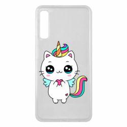Чохол для Samsung A7 2018 The cat is unicorn