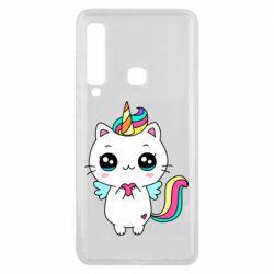 Чохол для Samsung A9 2018 The cat is unicorn
