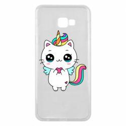 Чохол для Samsung J4 Plus 2018 The cat is unicorn