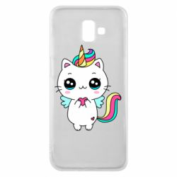 Чохол для Samsung J6 Plus 2018 The cat is unicorn