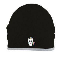 Шапка The cat is unicorn